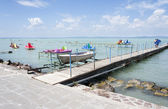 Lake Balaton in Hungary — Stock Photo