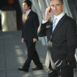 Senior business man on the phone — Stock Photo #11828535