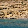 Matala caves — Stock Photo