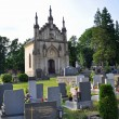 Stock Photo: Old Germcemetery in Sudetenland