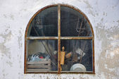Window mortuary — Stock Photo