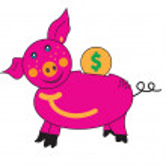 Piglet piggy Bank. — Stock Photo #11817466