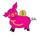 Piglet piggy Bank. — Stock Photo