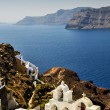Campanile In Oia, Santorini — Stock Photo