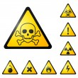 Warning signs - Stock Vector