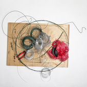Conjunto de herramientas para la creación de trabajo — Foto de Stock