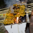 Malaysian Tradisional Cuisine Satay — Stock Photo