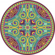 Indian-mandala - Stock Vector