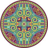Hint-mandala — Stok Vektör