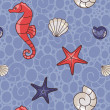 Sea pattern - Stock Photo