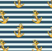 Sea anchor pattern — Stock Photo