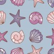 Various sea pattern - Stock Photo