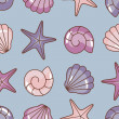 Various sea pattern — Stock Photo