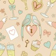 Stock Photo: Wedding-pattern