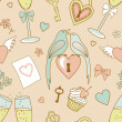 Wedding-pattern — Stock Photo