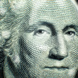 Stock Photo: One Dollar Bill Washington