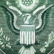 Stock Photo: Great Seal Of USClose Up
