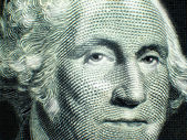 One Dollar Bill Washington — Stock Photo