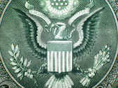 Great Seal Of The USA Close Up — Stock Photo