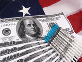Medical Costs In America — Stock Photo