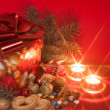 Red Sweet Christmas — Stock Photo
