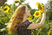 Chica soleada — Foto de Stock