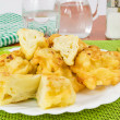 Cauliflower in batter — Stock Photo #11707644