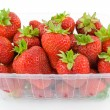 Strawberries in tubs — Stock Photo #11707693
