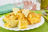 Cauliflower in batter — Stock Photo