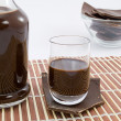 Stock Photo: Chocolate liqueur