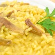 Saffron risotto with porcini — Stock Photo #11712852