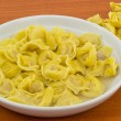 Tortellini in broth - Lizenzfreies Foto