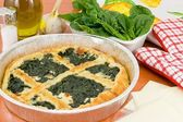 Spinach pie — Stock Photo