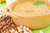 Soup varieties of beans, lentils and chickpeas — Stock Photo