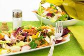 新鲜的沙拉 — 图库照片