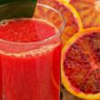 Blood Orange Juice - Stock Photo