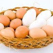Chicken eggs — Stock Photo #11993054