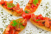 Bruschetta à la tomate — Photo