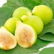 Figs green — Stock Photo