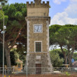 Stock Photo: Civic Tower of Borgo Grappa, Latina