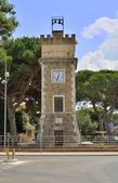 Civic Tower of Borgo Grappa, Latina — Stock Photo
