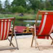 Stock Photo: Deckchair