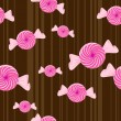 Royalty-Free Stock Vectorafbeeldingen: Peppermint candy seamless background