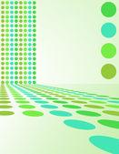 ретро круг фон - векторные иллюстрации — Cтоковый вектор