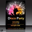 Royalty-Free Stock Vector Image: Disco Party Background. Vector Illustration