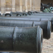 Cannons in a row — Stock Photo #11667877
