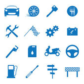 Pictogram auto — Stockvector