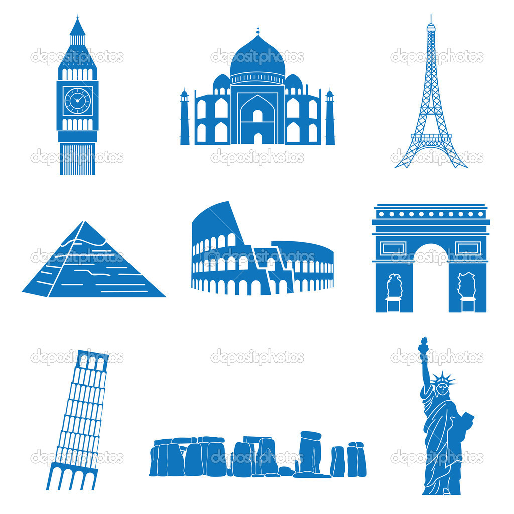 Vector illustration of attractions — Stock Vector #11679797