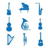 Musik-ikone — Stockvektor