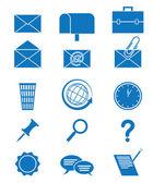 Ikonen e-post — Stockvektor